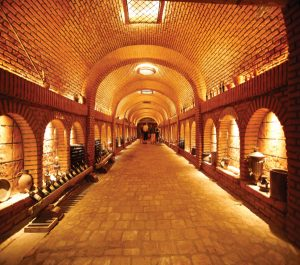Khareba Wine tunnel