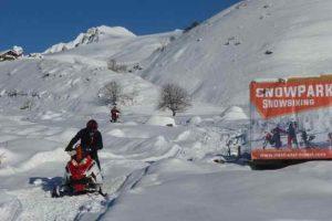 Winter Mestia Svaneti Georgia Ski resort