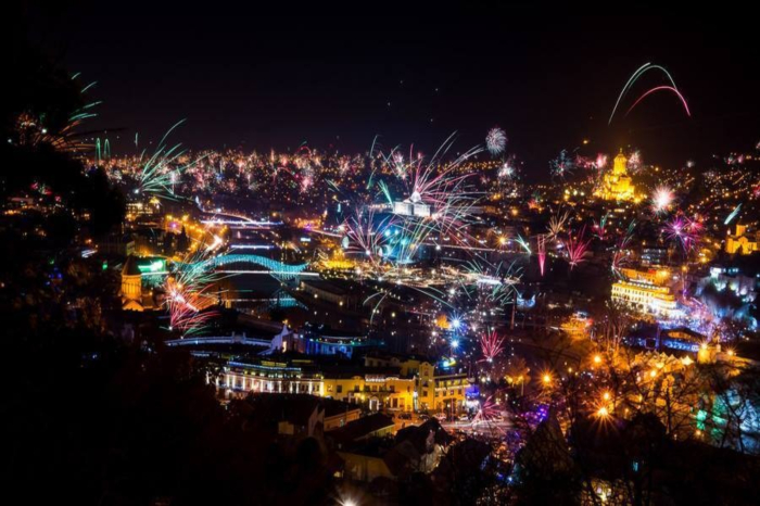 new year georgia