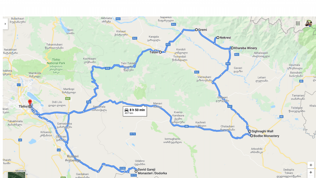 Kakheti Surrounding Tour